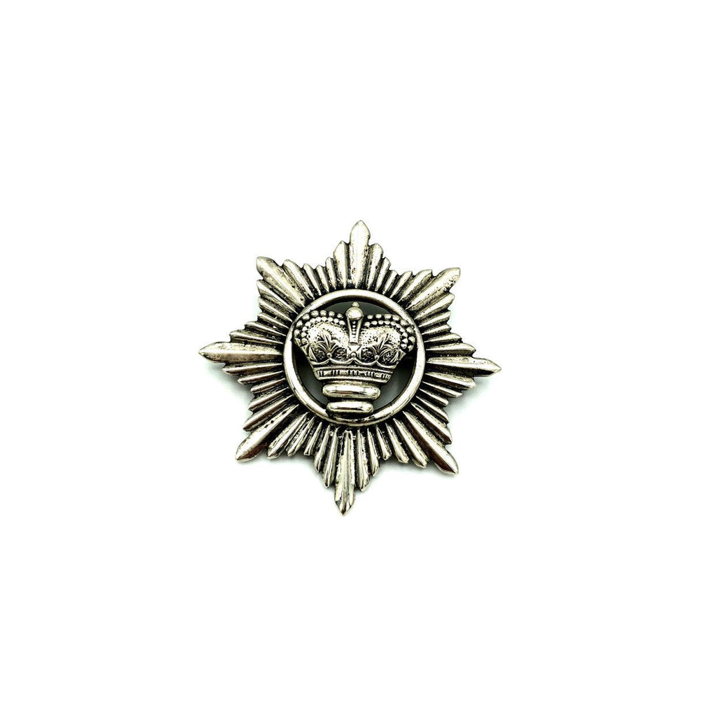 Silver Vintage Danecraft Crown Pin Brooch Pendant