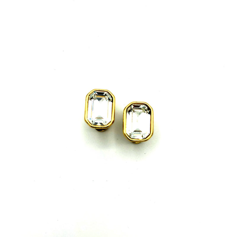 update alt-text with template Classic Monet Diamante Rhinestone Vintage Earrings-Earrings-Monet-[trending designer jewelry]-[monet jewelry]-[Sustainable Fashion]