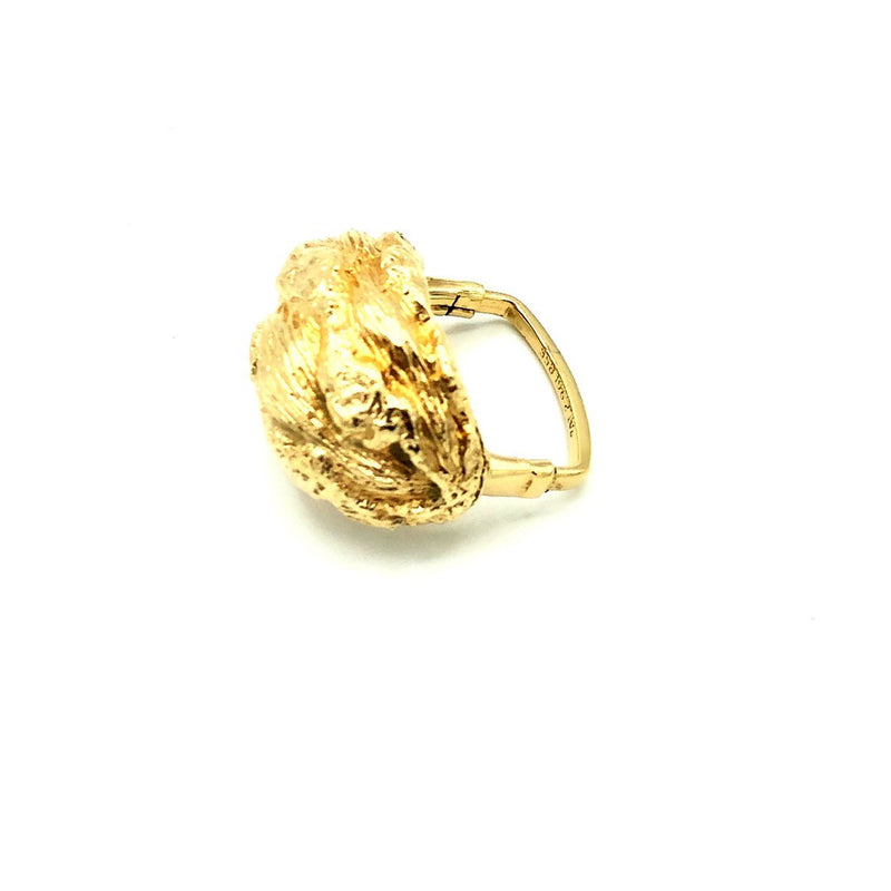 Vendome Gold Nugget Vintage Cocktail Ring