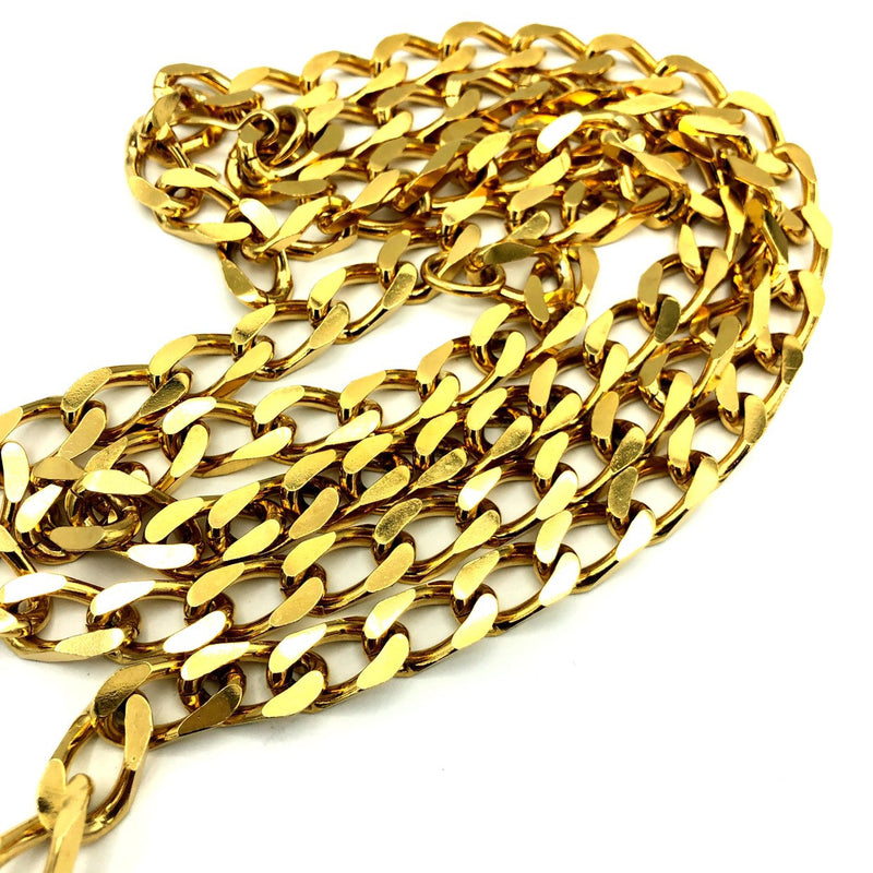 Accessocraft Gold Bib Chain Charm Vintage Belt