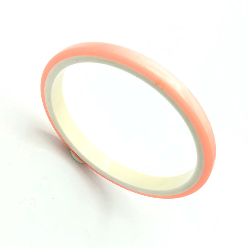 Soft Pink Lucite Vintage Bangle Bracelets-Sustainable Fashion with Vintage Style-Trending Designer Fashion-24 Wishes