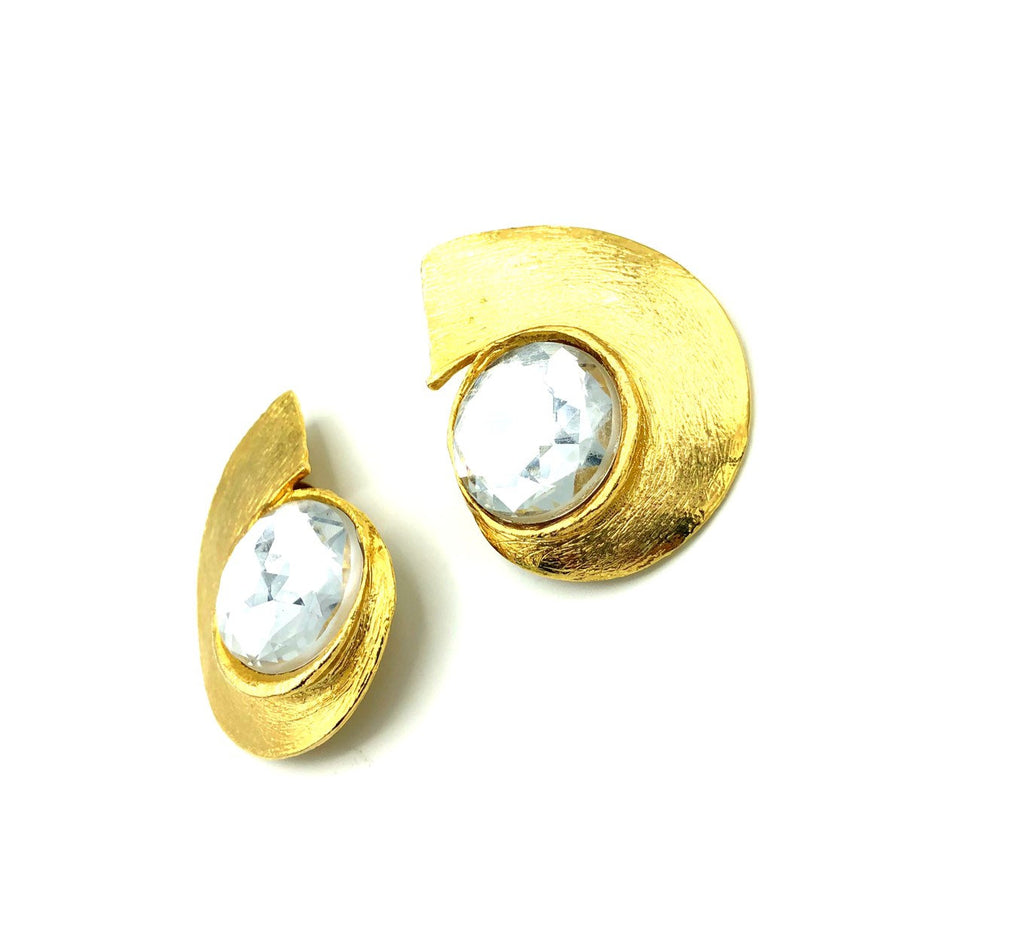 Classic Retro Gold Statement Vintage Earrings
