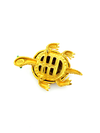 update alt-text with template Joan Rivers Brown Enamel & Rhinestone Turtle Vintage Brooch-Brooches & Pins-Joan Rivers-[trending designer jewelry]-[joan rivers jewelry]-[Sustainable Fashion]