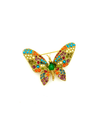 D'Orlan Bijoux Butterfly Vintage Brooch-Sustainable Fashion with Vintage Style-Trending Designer Fashion-24 Wishes