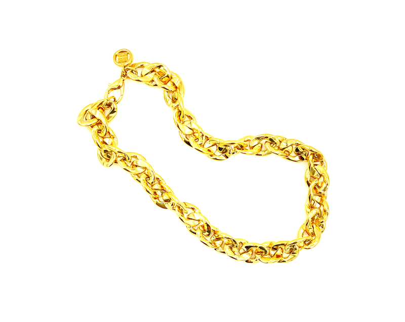Givenchy Gold Chain Vintage Necklace
