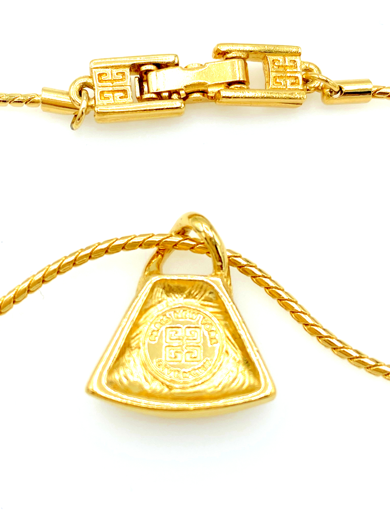 Gold Givenchy G Logo Charm Stacking Chain Bracelet-Bracelets-Givenchy-[trending designer jewelry]-[givenchy jewelry]-[Sustainable Fashion]