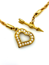 update alt-text with template Swarovski White Crystal Open Heart Pendant Gold Rope Chain Necklace-Necklaces & Pendants-24 Wishes-[trending designer jewelry]-[swarovski jewelry]-[Sustainable Fashion]
