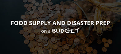 FOOD SUPPLY AND DISASTER PREP ON A BUDGET