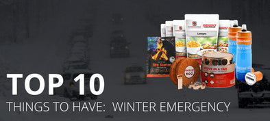 TOP TEN THINGS TO HAVE: WINTER EMERGENCY