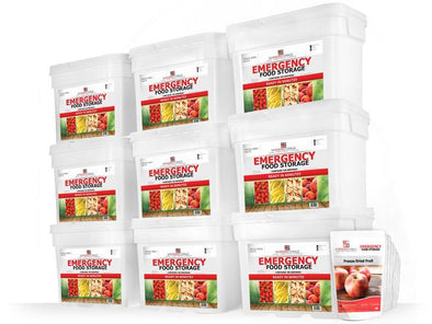 My Food Storage 1080 Serving Freeze Dried Fruit Combination