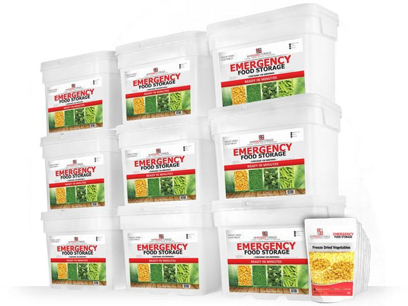 My Food Storage 1080 Serving Freeze Dried Vegetables