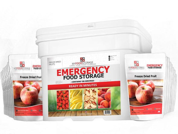 My Food Storage 120 Serving Freeze Dried Fruit