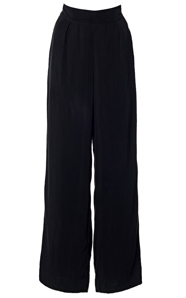 The Keaton Wide Leg Pant in Cupro