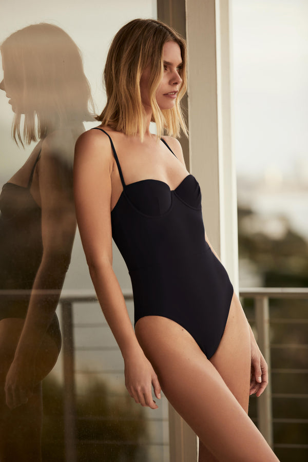 The Balconette Underwire One Piece