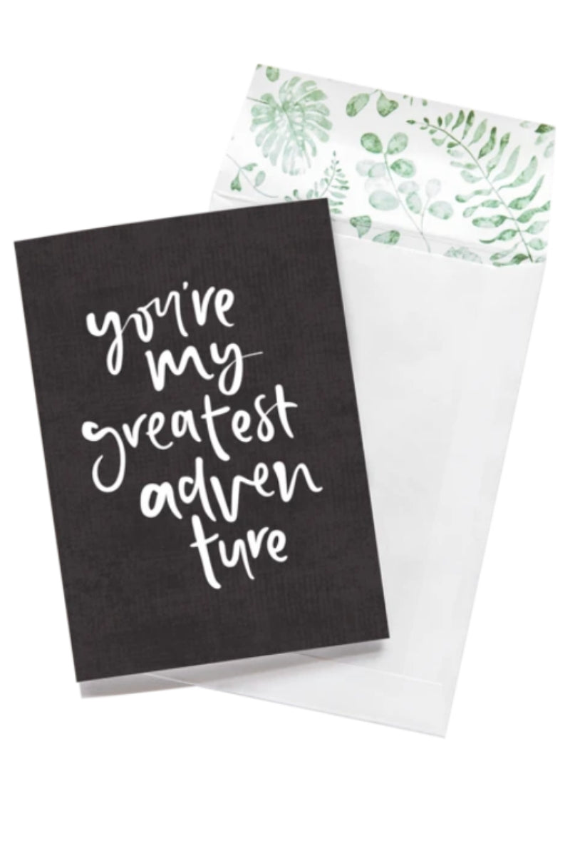 Greeting Card | My Greatest Adventure