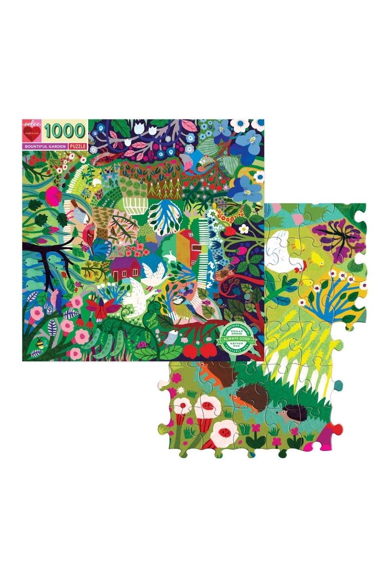 eeBoo 1008 Pc Puzzle - Bountiful Garden