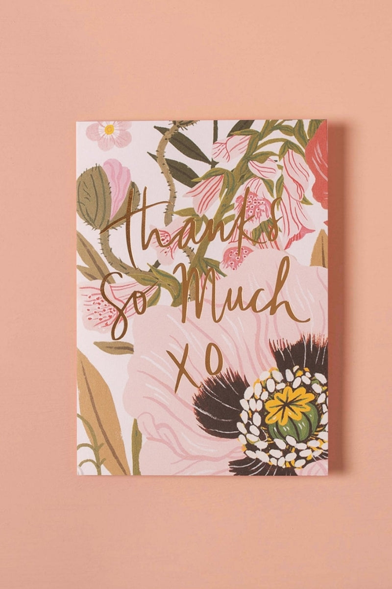 Greeting Card | Thank You So Much Xo