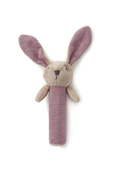 Bunny Rattle | Pink