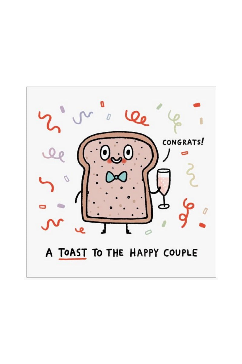 Greeting Card | Toast To The Couple