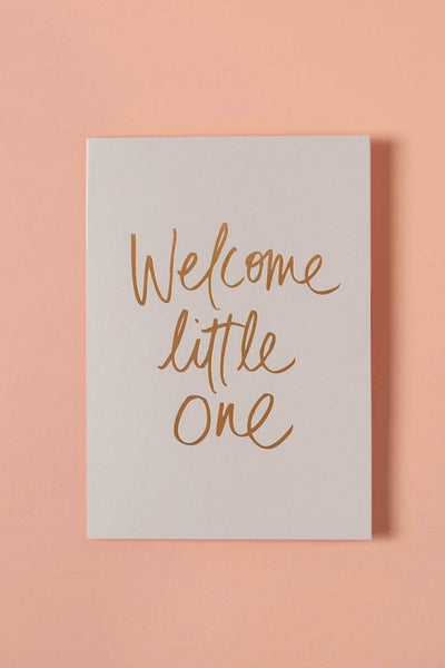 Greeting Card | Welcome Little One