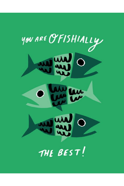 Greeting Card | Ofishially The Best