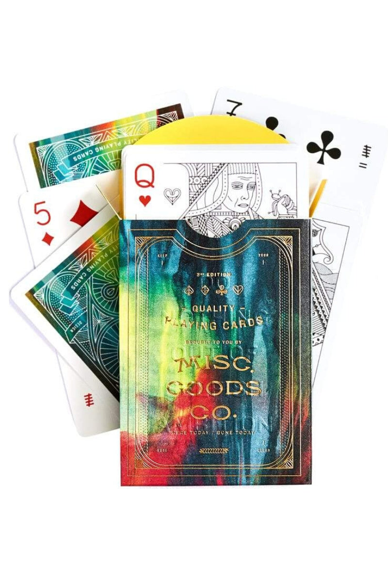 Misc. Goods Co. Playing Cards - Cina