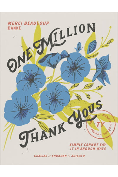 Greeting Card | One Million
