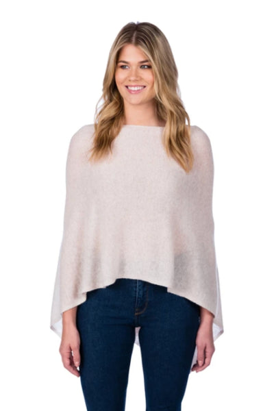 Cashmere Topper | Oatmeal
