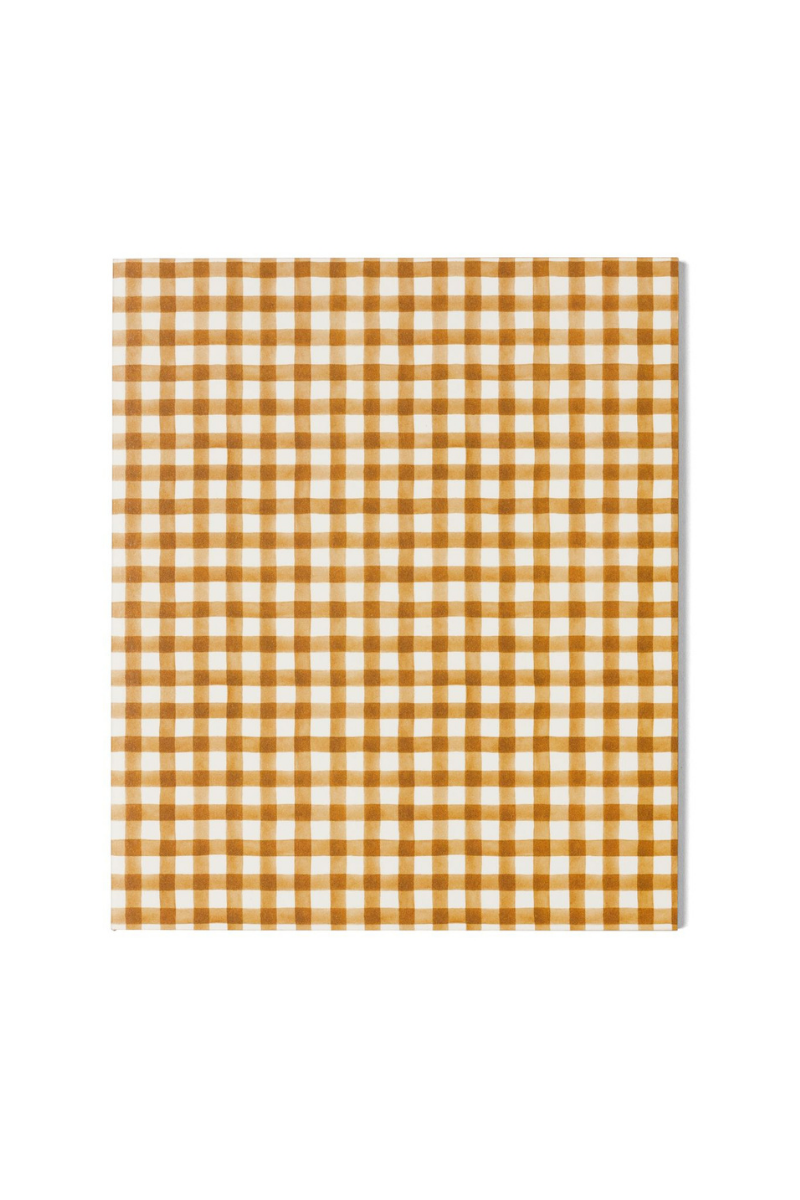 Spice Gingham | A5 Notebook