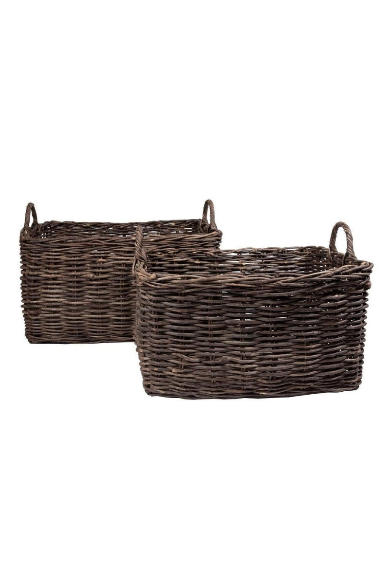 Small Wood Basket