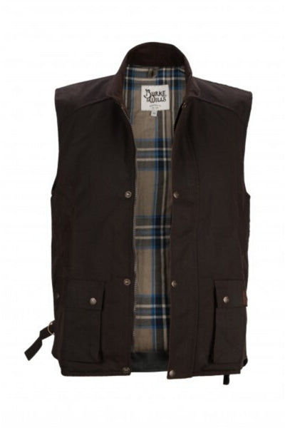 Capricorn Oilskin Vest | Brown