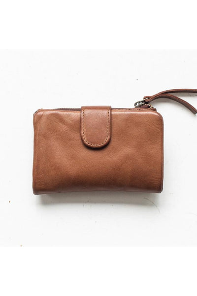 Small Capri Wallet | Cognac
