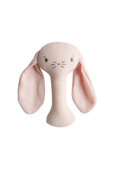 Bobby Bunny Rattle | Pink