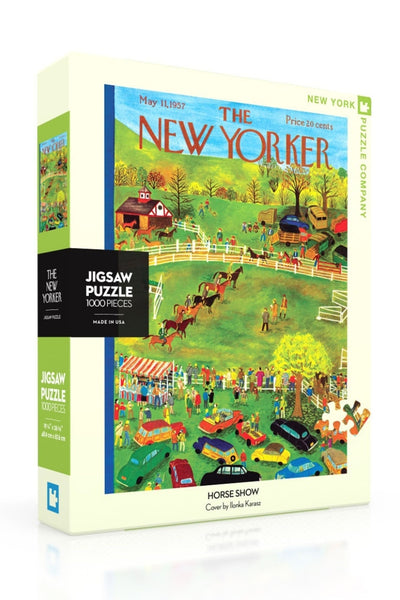 1000 Pc New Yorker | Horse Show