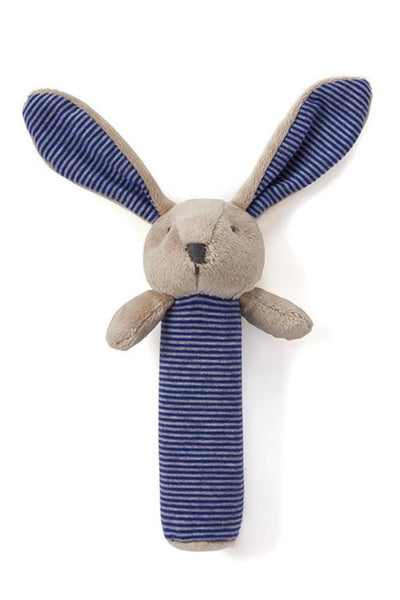 Bunny Rattle | Blue