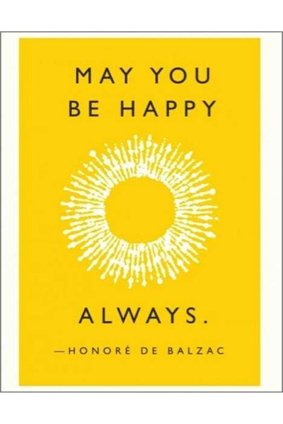 Greeting Card | Be Happy