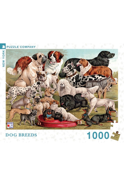 1000 Pc New Yorker | Dog Breeds