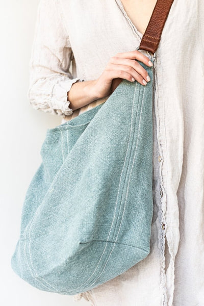 Jute Slouchy | French Blue