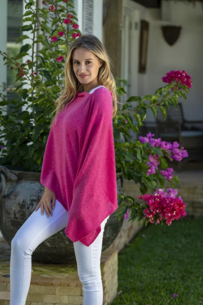 Cashmere Topper | Bloom Pink