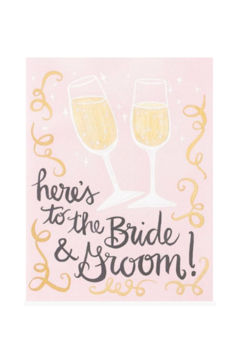 Greeting Card | Here's To The Bride & Groom