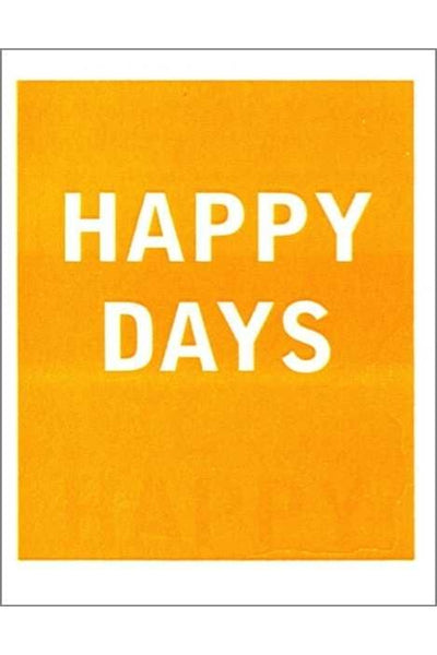 Greeting Card | Happy Days