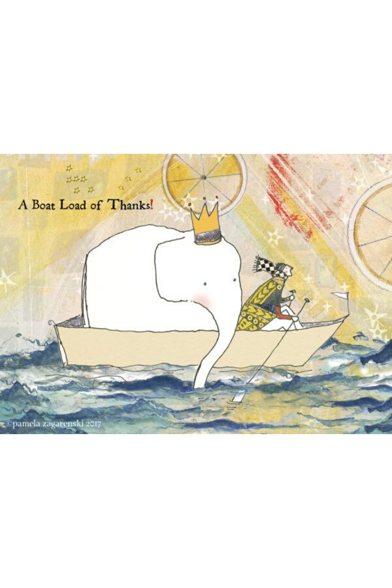 Greeting Card | Boat Load Of Thanks