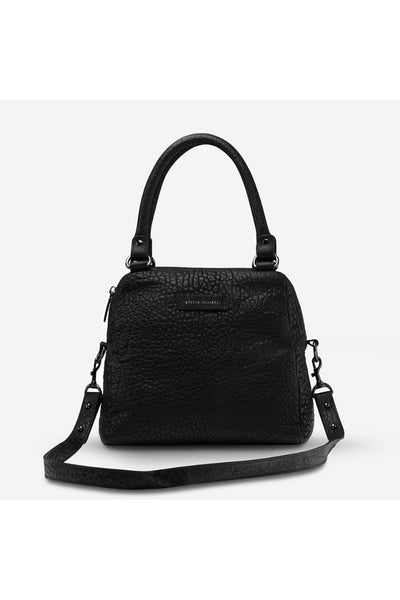 Last Mountains Bag | Black Bubble