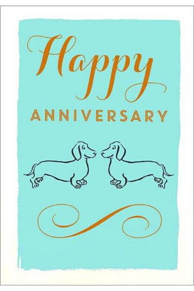 Greeting Card | Doxie Anniversary
