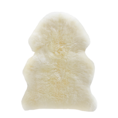 Natural White Sheepskin