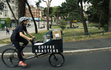 Burning rubber & roasting coffee
