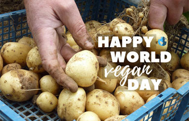 World vegan day: why we prefer plant-powered