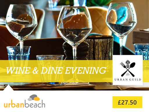 Wine & Dine Evening at Urban Beach