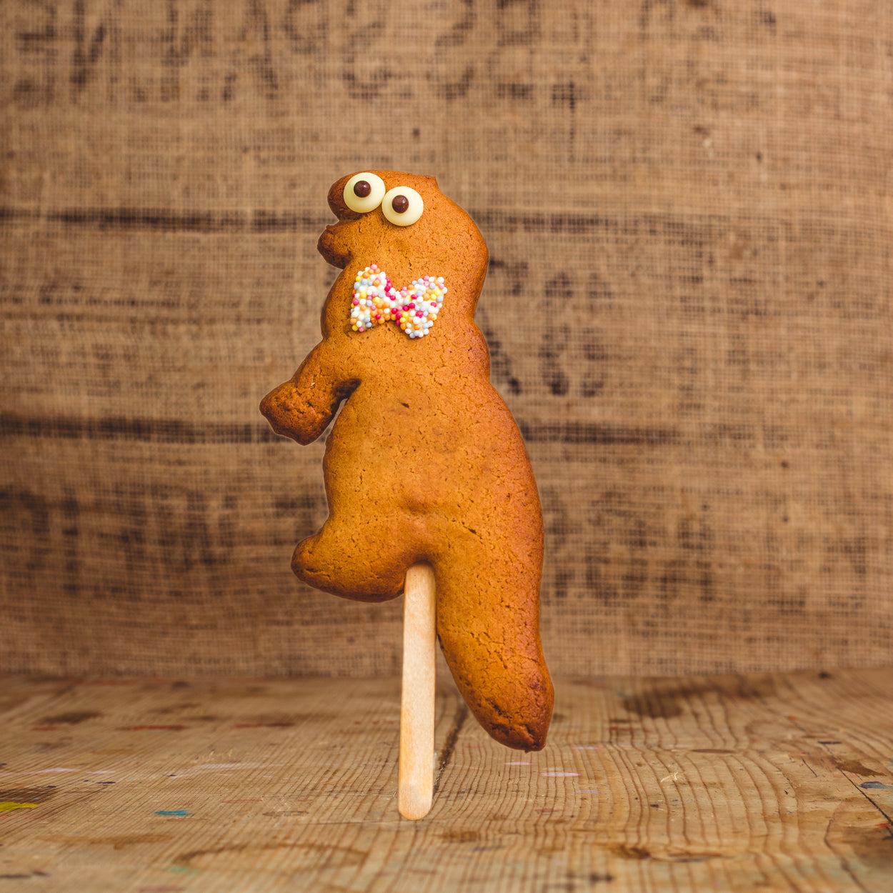 Gingerbread Dinosaur