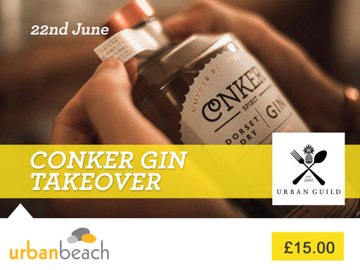 Conker Gin takeover at Urban Beach